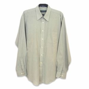 Claybrooke sage wrinkle free dress shirt